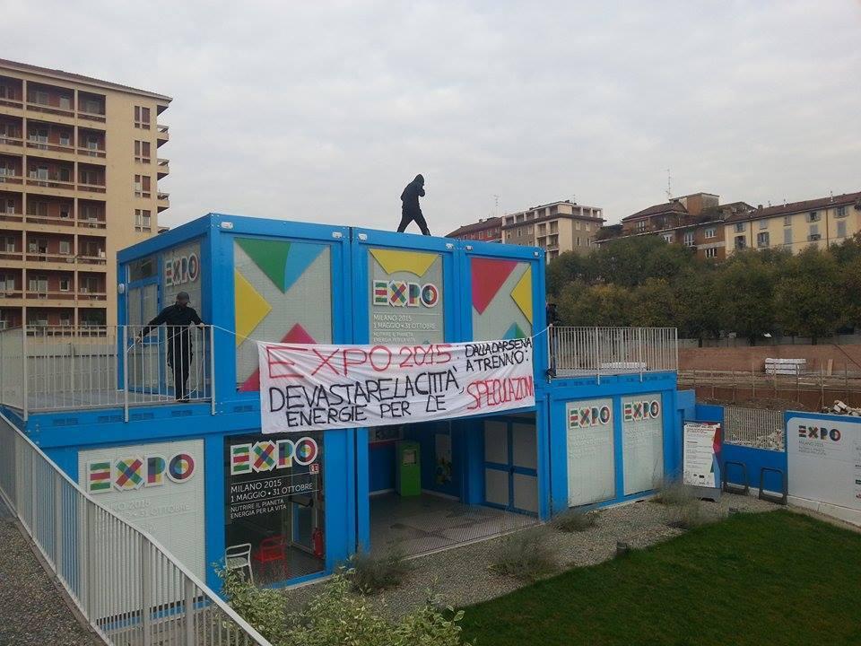 #ScioperiamoExpo, contro debito cemento precarietà